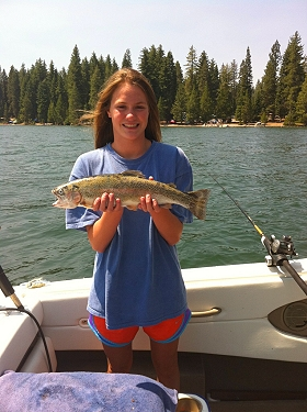 Contact dick 39 s fishing charters at shaver lake with for Dicks fishing license